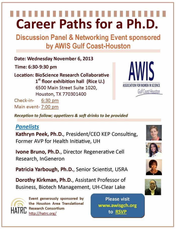 Career Development Workshop Nov-6-2013