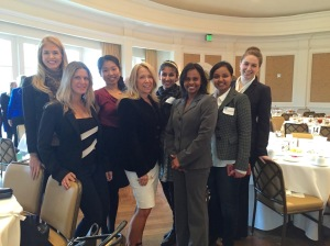 AWISGCH board members with Jacquelin Northcut, CEO BioHouston at the annual WISE luncheon