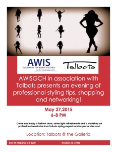flyer awis talbots event