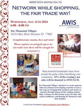 Networking Event at Ten Thousand Villages!