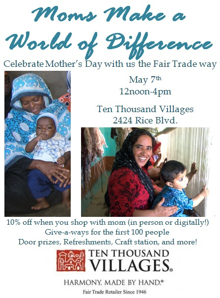 mothers day 2016 Ten Thousand Villages