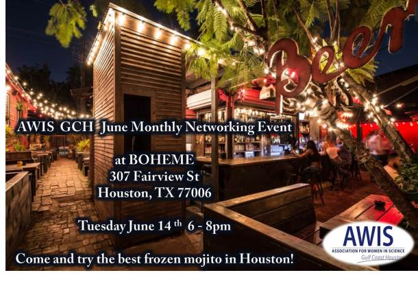 AWIS GCH Networking event - June 14 2016