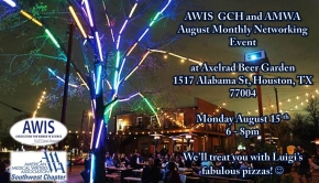 AWIS GCH and AMWA SW Joint August Monthly Networking Event