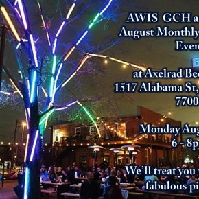 AWIS GCH and AMWA SW Joint August Monthly NetworkingEvent