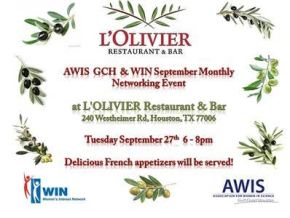 AWIS GCH and WIN September Monthly NetworkingEvent