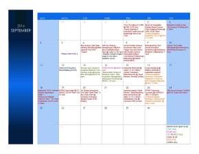September STEM Calendar