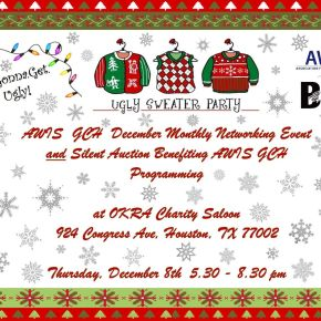 December Ugly Sweater Networking and Silent Auction Fundraiser with BWISE