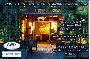 January Monthly Networking Event withenventure.