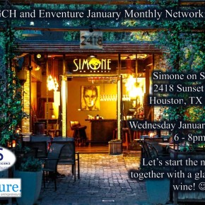 January Monthly Networking Event with enventure.