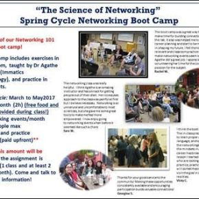 The Science of Networking–Spring Cycle