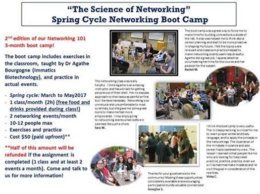Networking 101 Spring 2017 flyer 2