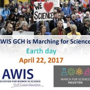 Animate a teach-in with AWIS GCH at March for ScienceHouston!
