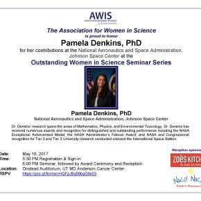 Outstanding Women in Science Seminar Series: Pamela Denkins,PhD