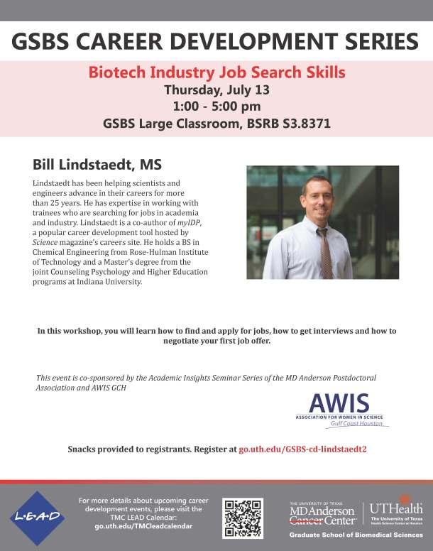 Bill Lindstaedt Workshop2 Flyer
