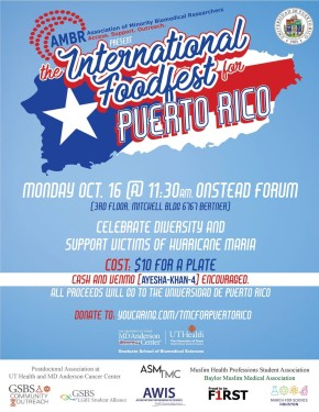 International Foodfest for Puerto Rico