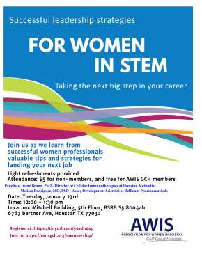 Successful Leadership Strategies for Women in STEM