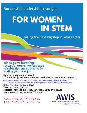 Successful Leadership Strategies for Women inSTEM