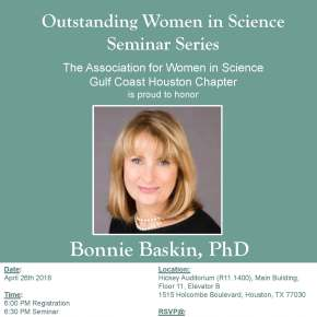 Outstanding Women in Science Seminar Series Presents Dr. Bonnie Baskin