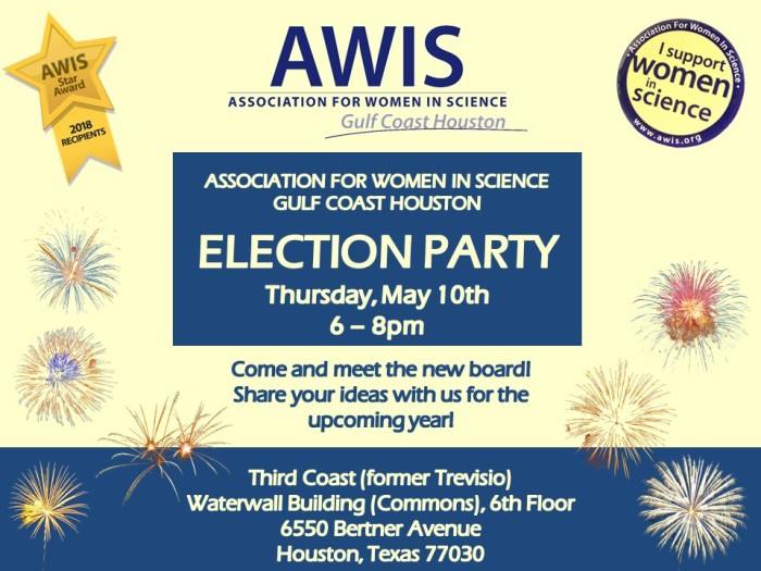 Flyer Election Party May 2018