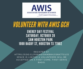 Volunteer with AWIS GCH at Energy Day Festival