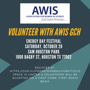 Volunteer with AWIS GCH at Energy DayFestival