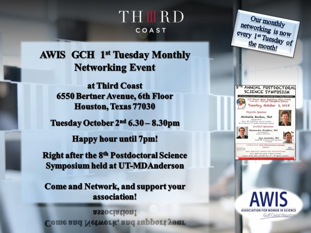 Flyer October Networking