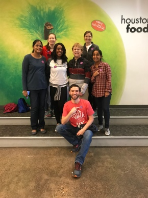 AWIS GCH at Houston Food Bank Nov 17, 2018