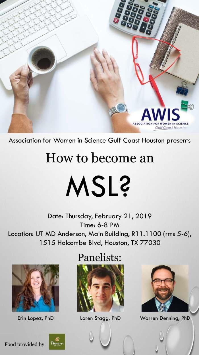 MSL Flyer with logo Feb 2019