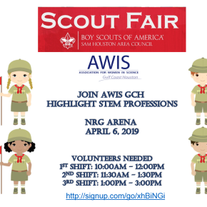 Volunteer with AWIS GCH: Scout Fair