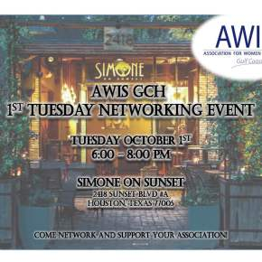AWIS GCH 1st Tuesday NetworkingEvent