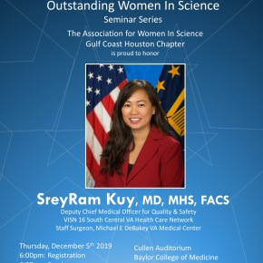 Outstanding Women in Science Seminar Series – Fall 2019