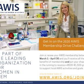AWIS 2020 Membership DriveChallenge!