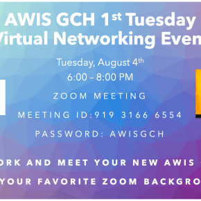 AWIS GCH 1st Tuesday Virtual Networking Event