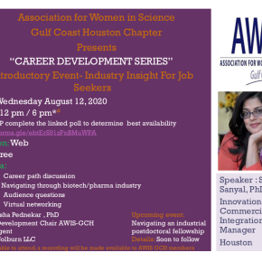 Career Development Series – Introductory Event
