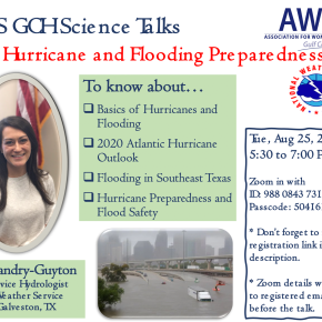 AWIS GCH Science Talks – 2020 Hurricane and Flooding Preparedness